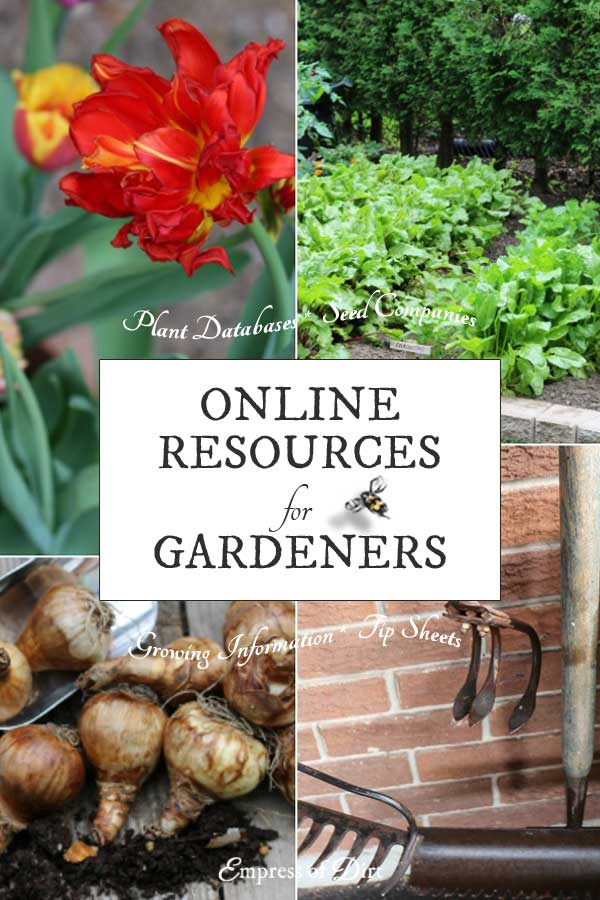 Handy Online Resources for Gardeners