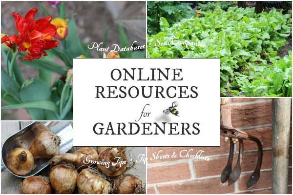 This is your gateway to the best online plant databases, a directory of seed companies, and top tip sheets and checklists for gardeners.