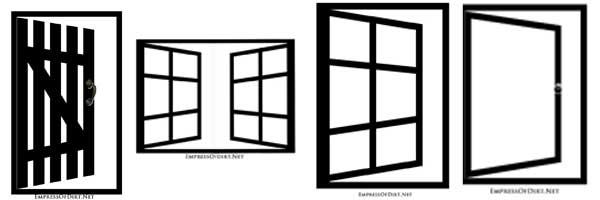Design ideas for optical illusion garden art mirrors
