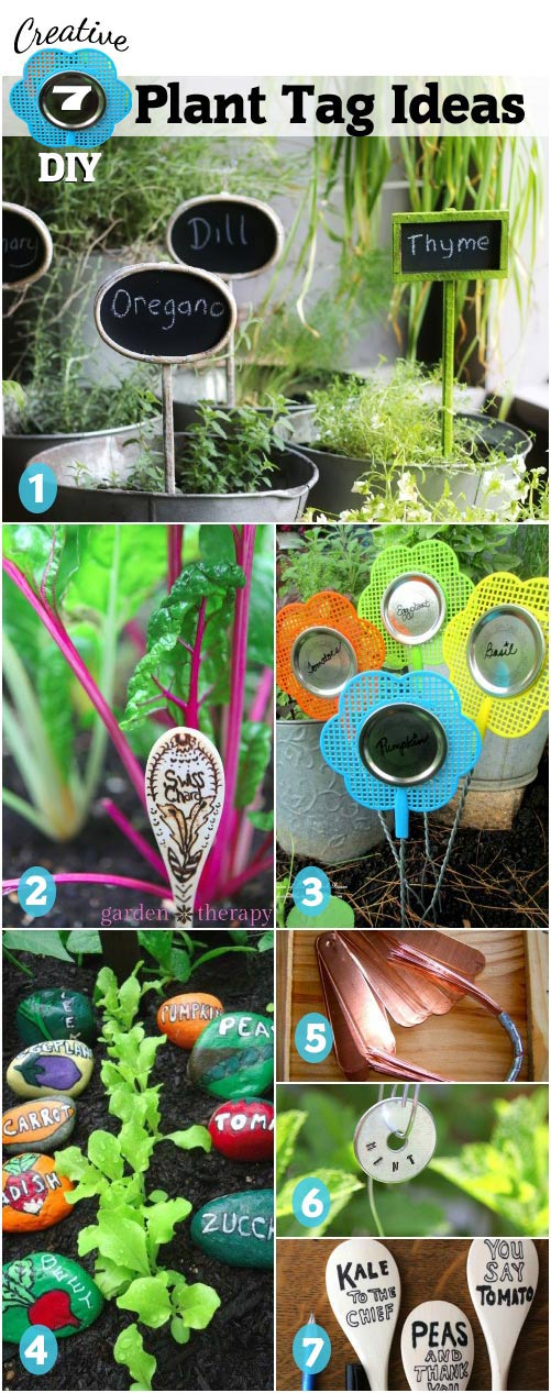 DIY Plant tags and markers
