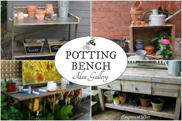 Potting bench idea gallery