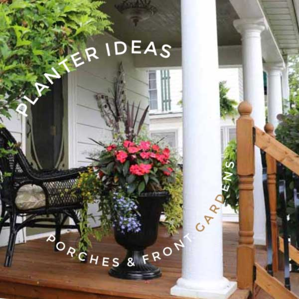 25 Planter Ideas For Porches And Front Gardens Empress Of Dirt