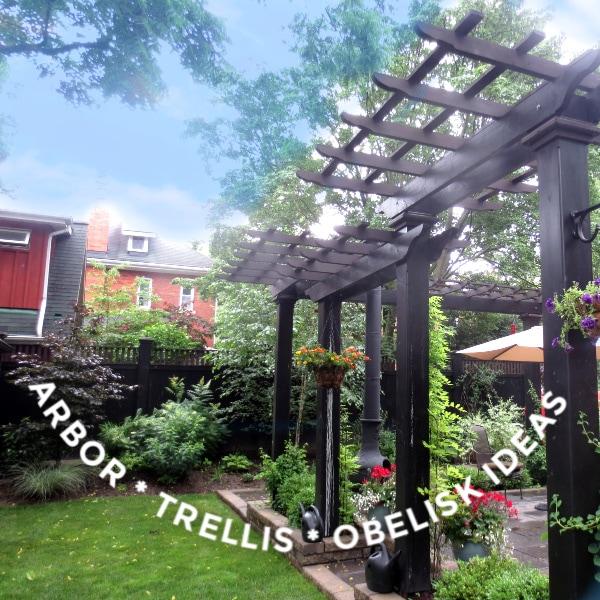 30 Arbor Trellis Obelisk Ideas For Home Gardens Empress Of Dirt