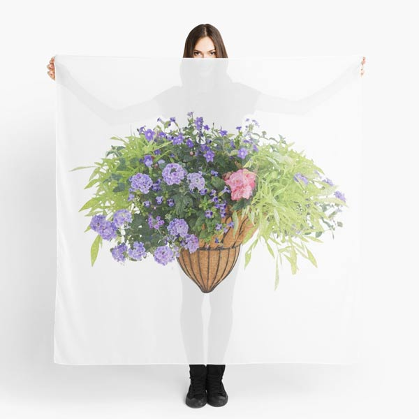 Flower Basket Collection | Empress of Dirt RedBubble Shop