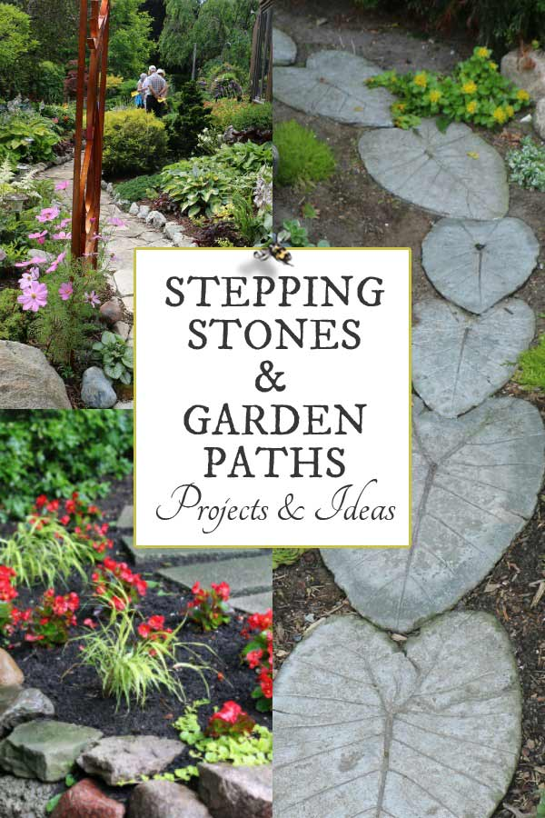 Stone Garden Path Ideas 25 stunning garden paths 12 Stepping Stone Garden Path Ideas