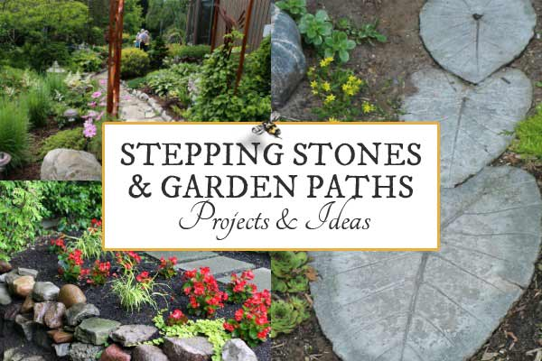 Stone Garden Path Ideas best 25 stepping stone paths ideas on pinterest stepping stone walkways stone paths and river rock path Heres A Bunch Of Creative Ideas For Designing Garden Paths And Walkways Plus Diy Stepping Stone