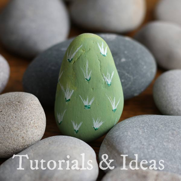 Stone painting tutorials and ideas.