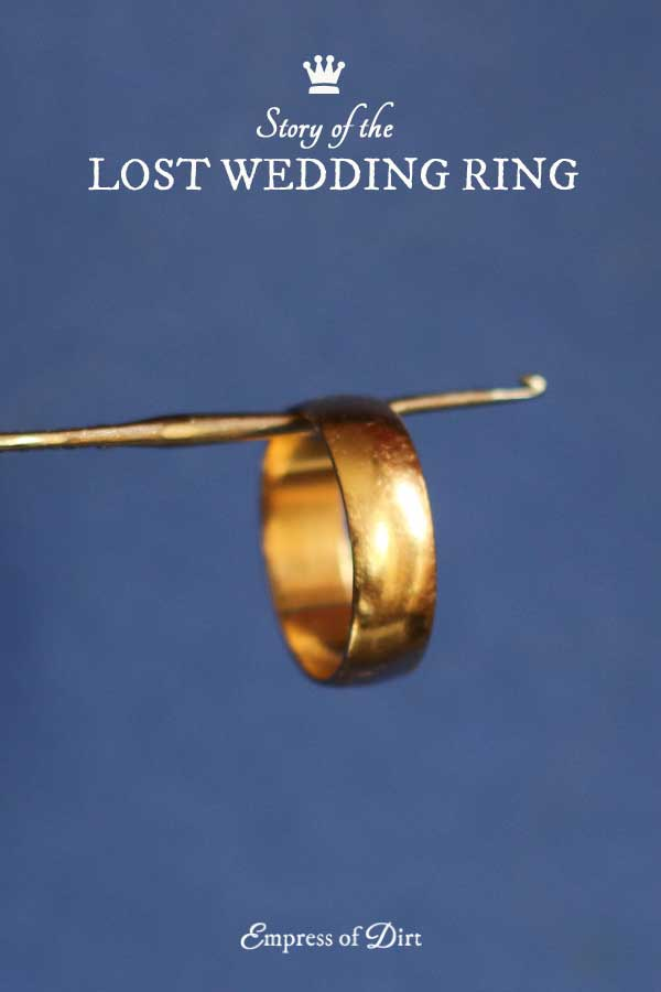 story of the lost wedding ring - Lost Wedding Ring