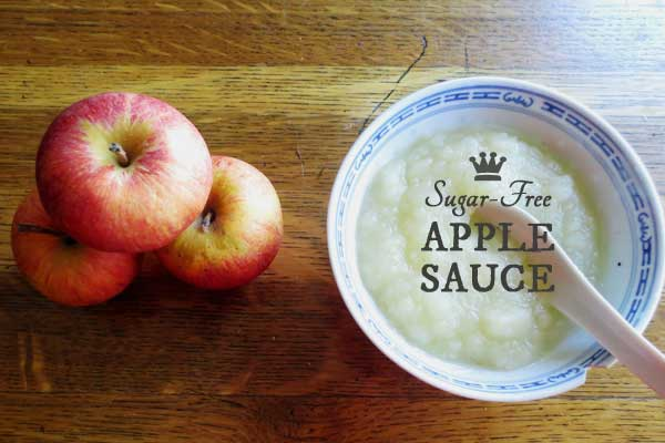 All-Natural, Sugar-Free Apple Sauce Recipe
