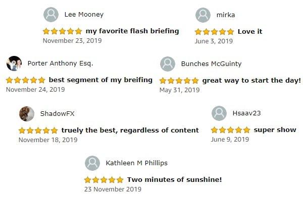 Podcast reviews
