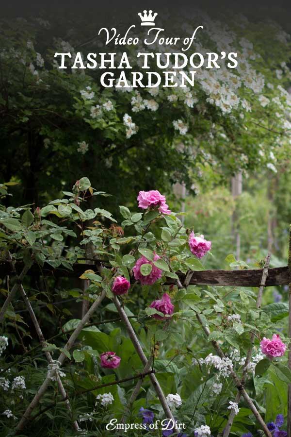 A video tour showing the beautiful gardens of Tasha Tudor.