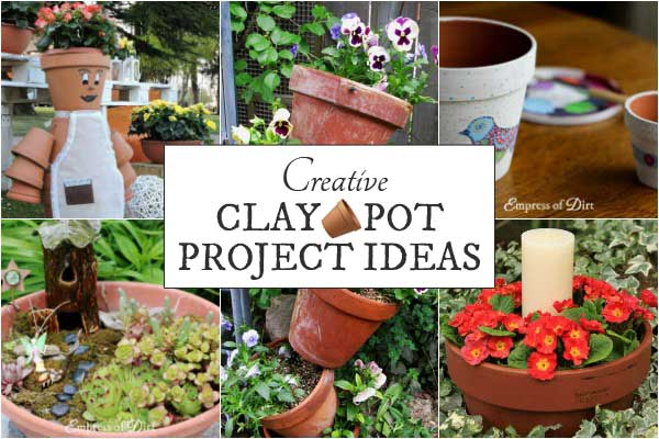 Creative clay pot project ideas