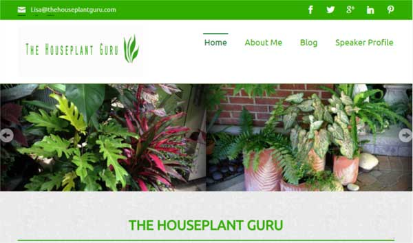 The Houseplant Guru blog by Lisa Eldred Steinkopf