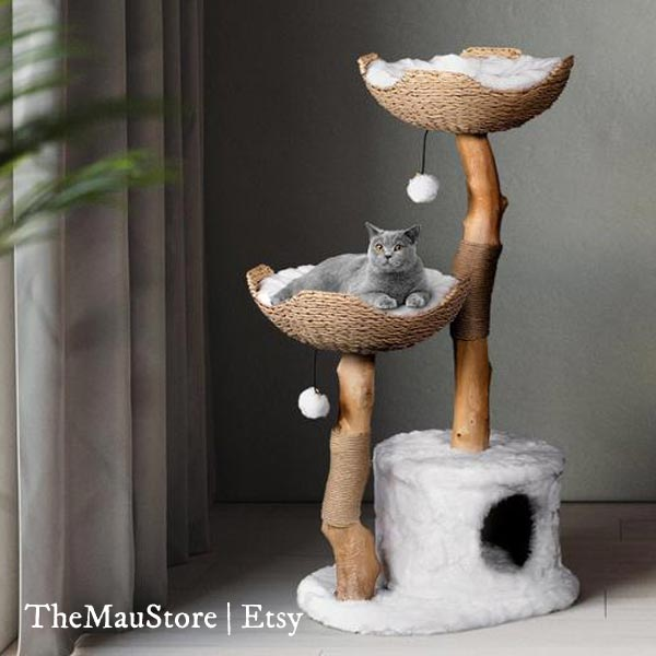 Cat tree by MauStore Etsy