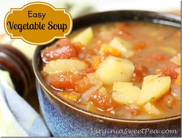A simple, vegetable soup recipe | 12 Vegetarian Soup Recipes for delicious snacks and meals