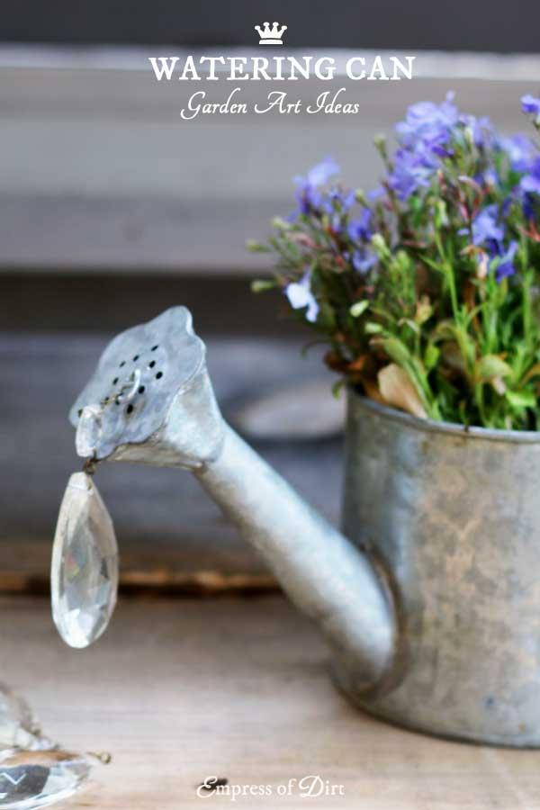 Watering Can Garden Art Ideas Empress Of Dirt