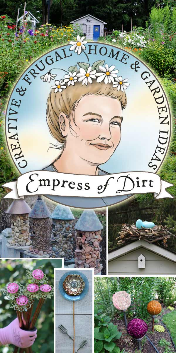 Empress of Dirt: creative and frugal home and garden ideas