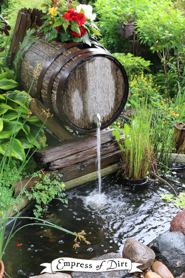 17 beautiful backyard pond ideas for all budgets for Fish pond supplies near me