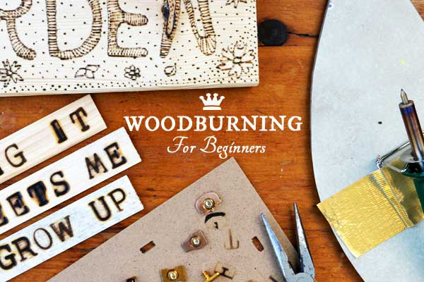 Woodburning for Beginners | DIY Garden Art