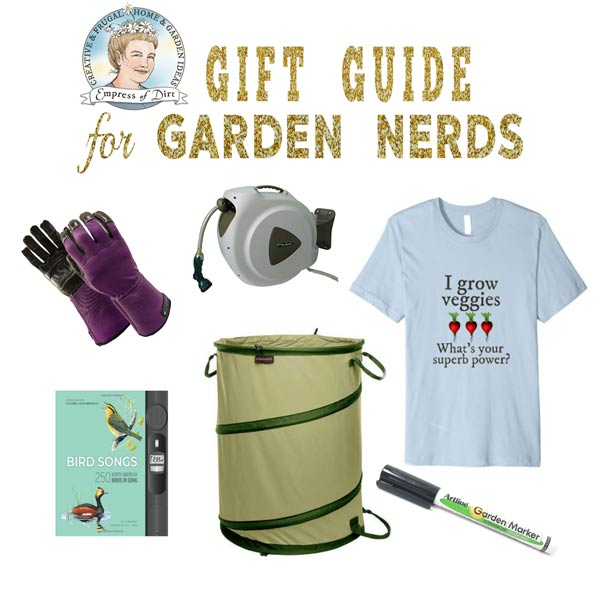 Gift Ideas for Garden Nerds. Practical and fun stuff for your favourite grower.