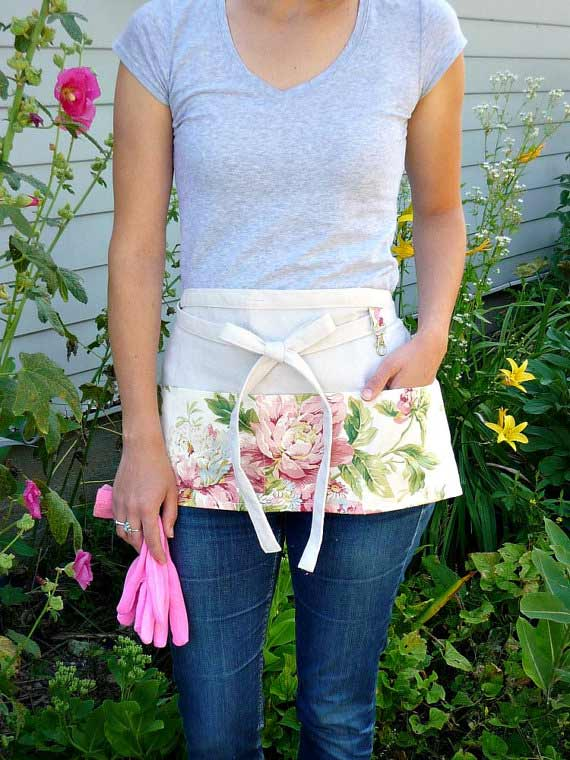 Half apron | greenwillowpond Etsy shop