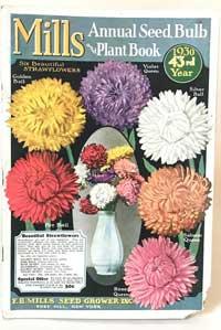 Vintage garden bulb catalog.