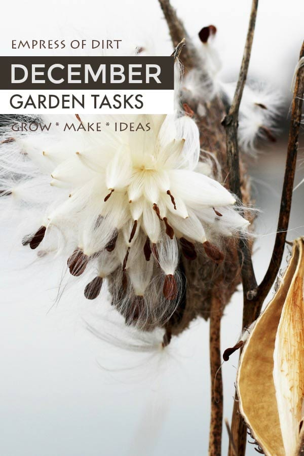 Find out what you can make and grow in a four-season garden.