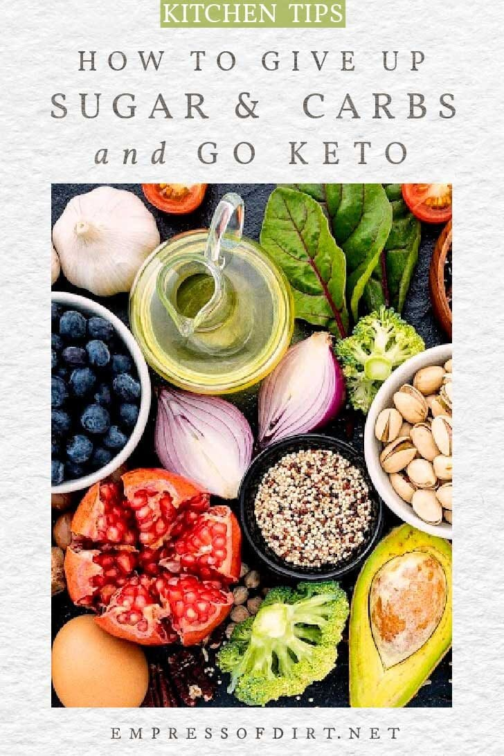 Low-carb foods for a keto lifestyle.