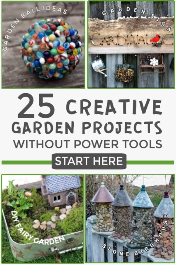 Garden projects that do not require power tools