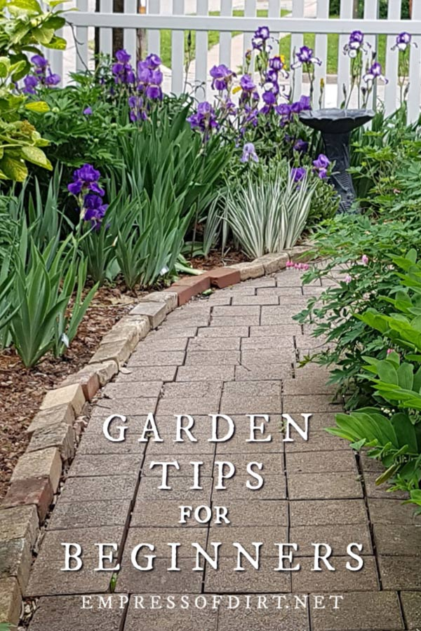 Helpful tips and resources for new gardeners. It's time to dig in and get growing. #gardening #growingtips