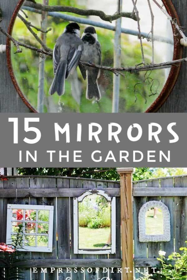 15 Garden Mirror Ideas for Backyards