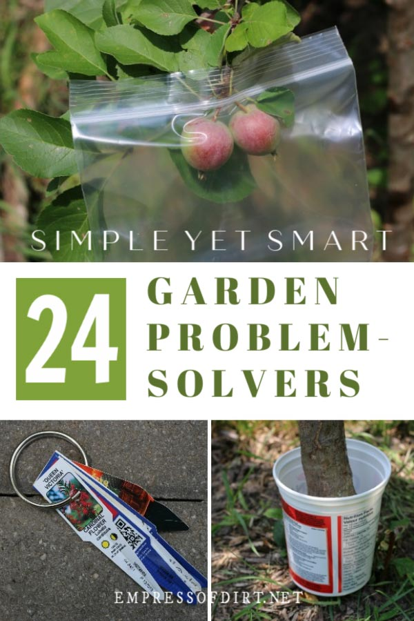 24 Clever Garden Problem-Solvers Using Household Items