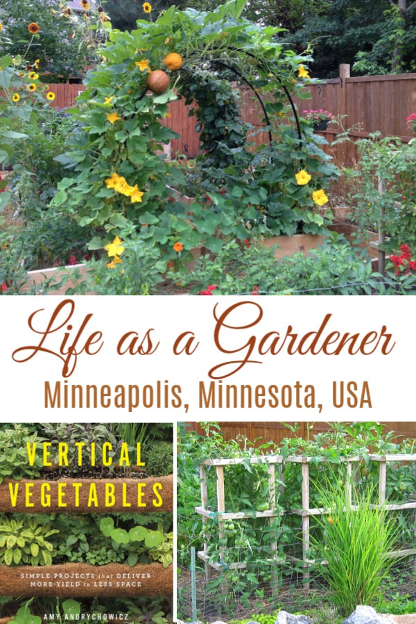 Life as a creative gardener in Minneapolis, MN, with Amy of Get Busy Gardening.
