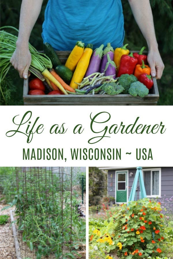 Life as a gardener in Madison, Wisconsin with Megan Cain.