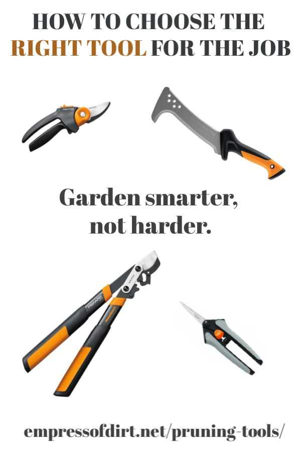 Tips on choosing the right garden tool for the job.