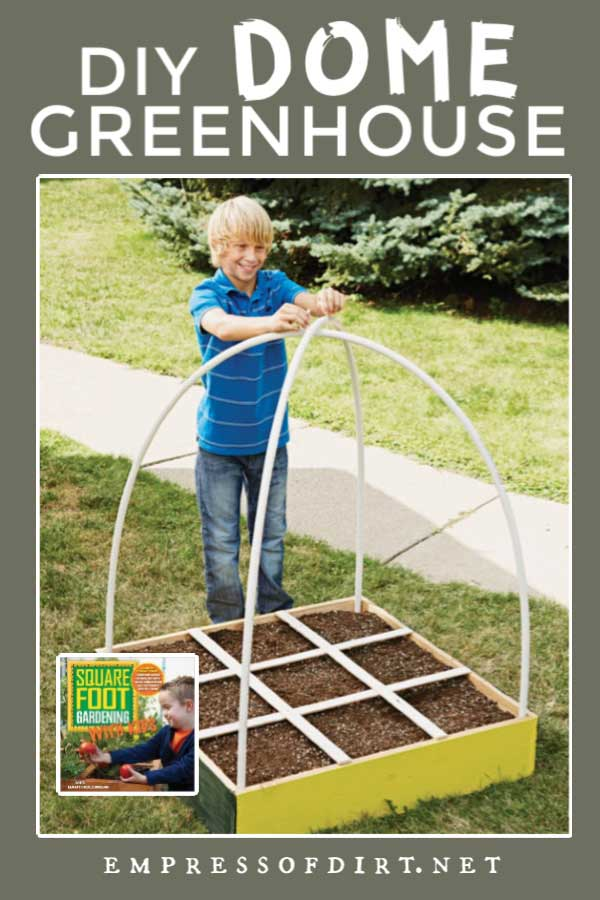 Making a smple dome greenhouse for a home garden.