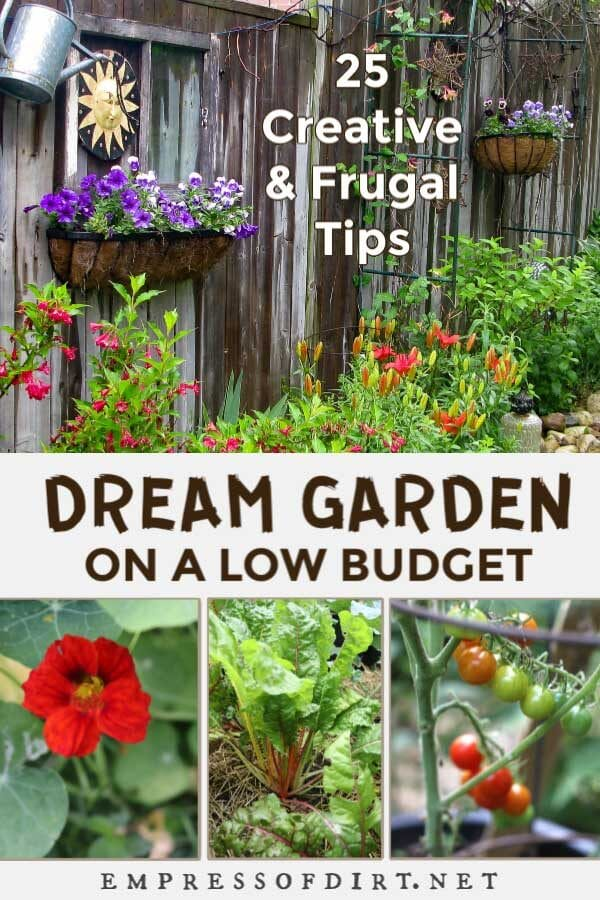 How To Create A Dream Garden On A Low Budget Empress Of Dirt