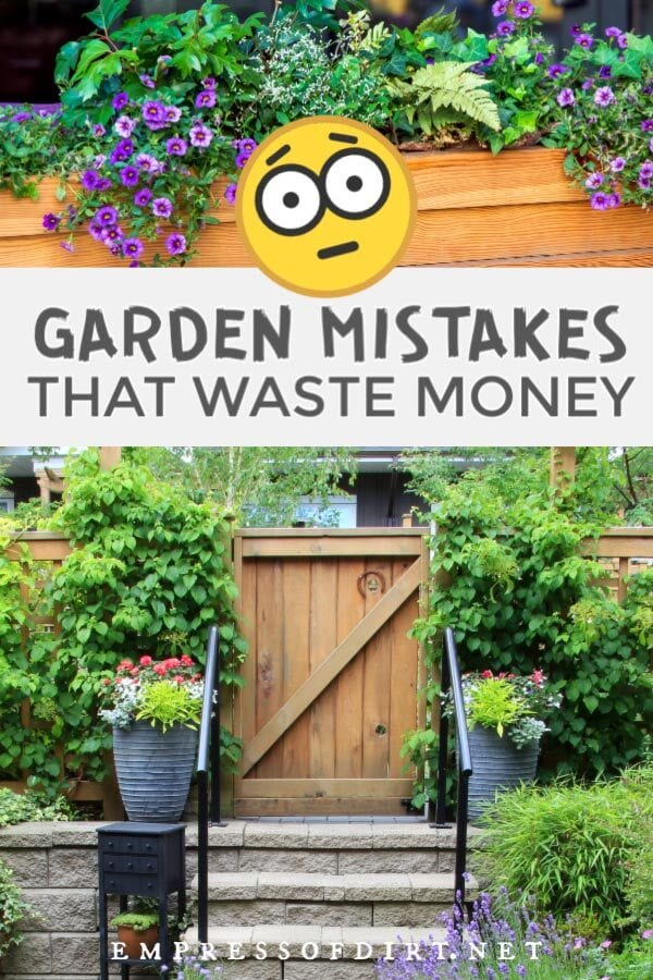 10 Garden Mistakes that Waste Money