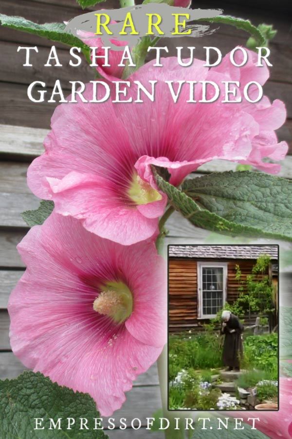 A video tour showing the beautiful gardens of Tasha Tudor.