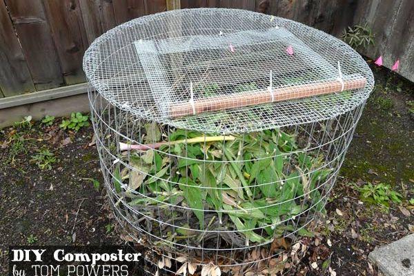 DIY Compost Bin by Tom Powers