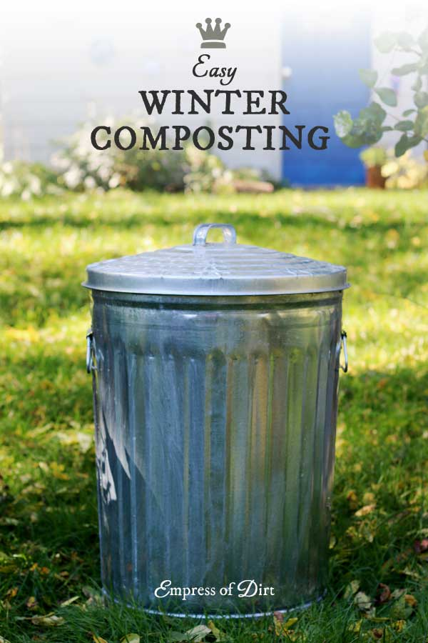 Winter compost bin