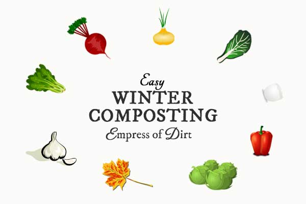 Easy Winter Composting