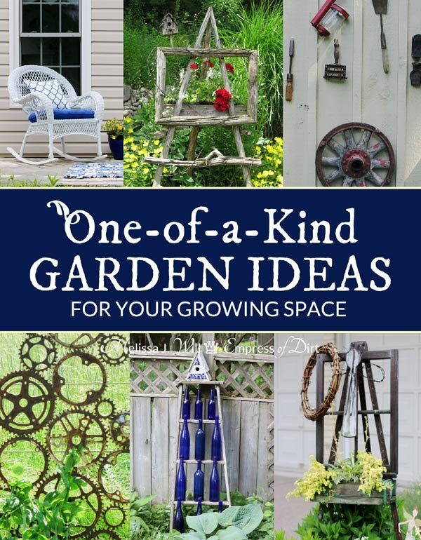 Would you like creative and frugal ideas from real-life home gardens? Here you go! Dig in and explore these snapshots from designer-free backyards and grab ideas to make your own growing space one-of-a-kind.