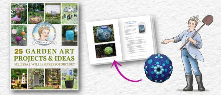 Preview pages of Empress of Dirt Garden Art Projects and Ideas ebook