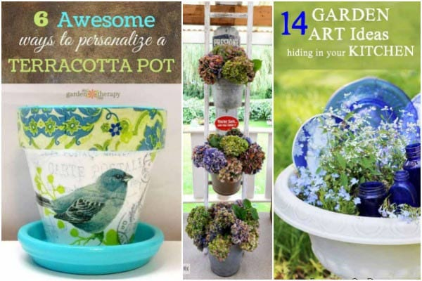 15 Fabulous ways to spice up your garden decor by creative DIYers. Grab ideas for turning unwanted junk and everyday objects into wonderful garden art and decor.