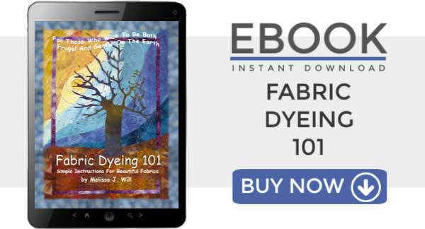 Fabric Dyeing 101: Simple instructions for beautiful hand-dyed fabrics you can create at home.
