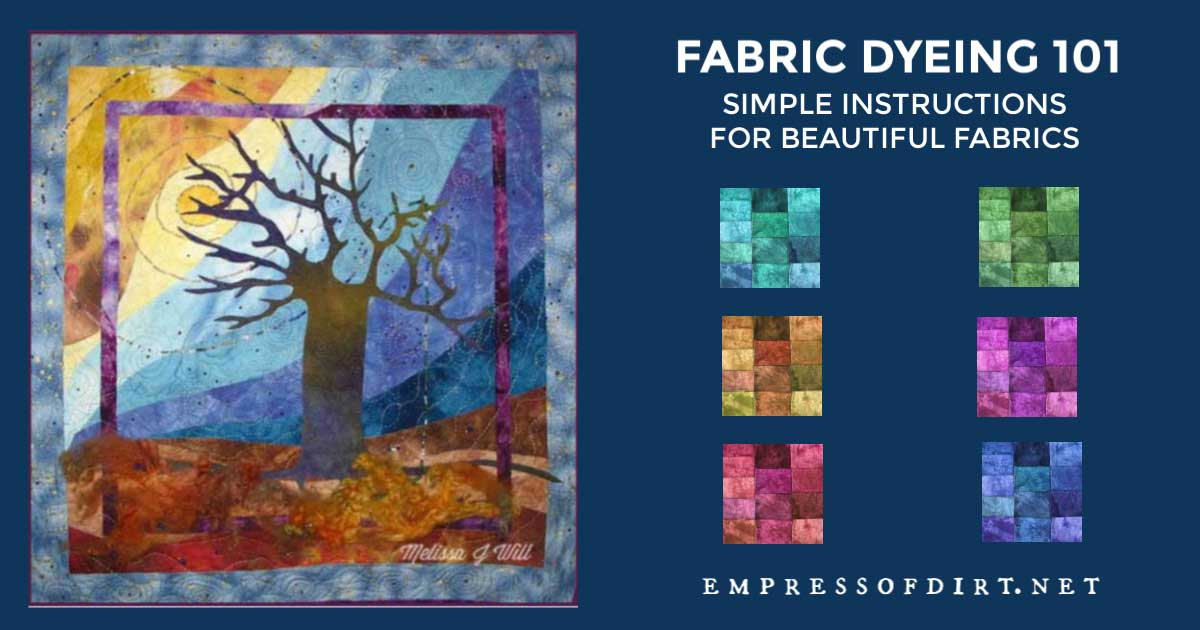 Fabric Dyeing 101 Simple Instructions For Beautiful Fabrics