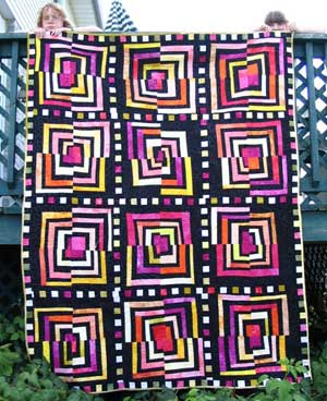 Fire and Ice Quilt by Melissa J Will