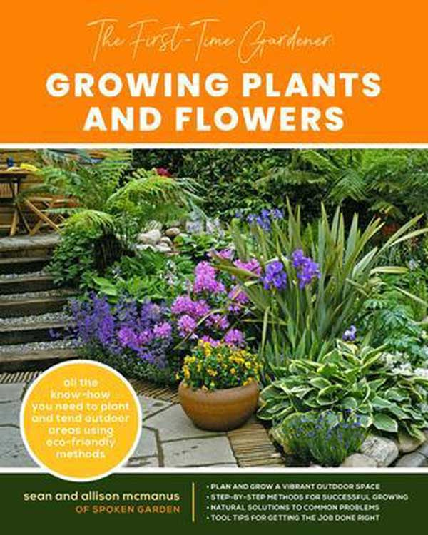 First-Time Gardener Growing Plants and Flowers