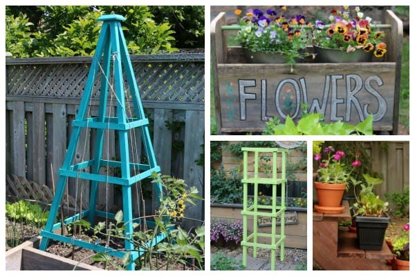 32 DIY Wood Decor Projects for the Garden